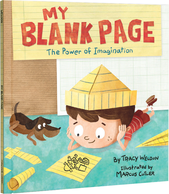 """My Blank Page: The Power of Imagination"""